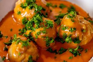selder ballekes tomatensaus