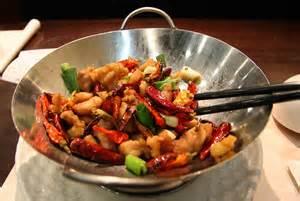 wok met kip