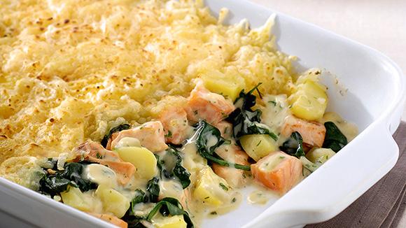 ovenschotel broccoli en vis